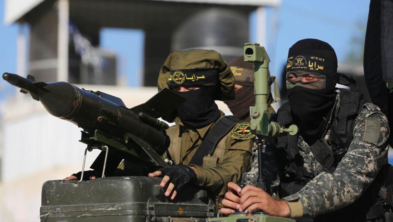 سرايا القدس تقصف تل ابيب برشقة صواريخ + فيديو