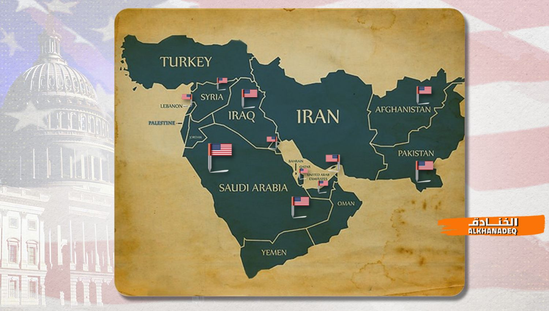 القوات الأمريكية في غرب آسيا..تكثيف النشاط!