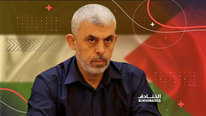 رئيس المكتب السياسي لحركة حماس في غزة يحي السنوار
