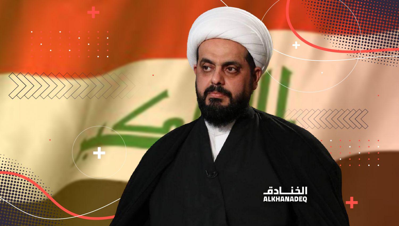 أمين عام عصائب أهل الحق الشيخ قيس الخزعلي