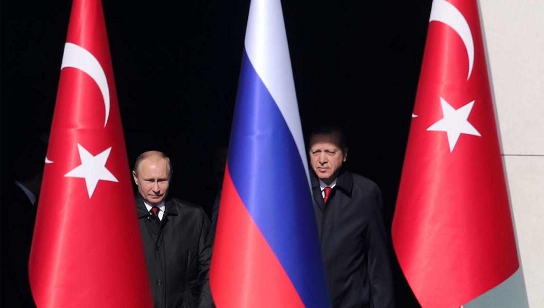 العلاقة الروسية التركية في مقياس المصالح
